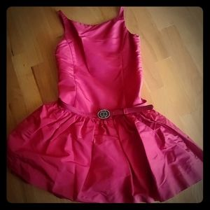 Ralph Lauren girls silk taffeta dress, sz 6x